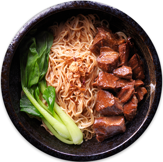 Beef Brisket Noodles | The Beef Station
