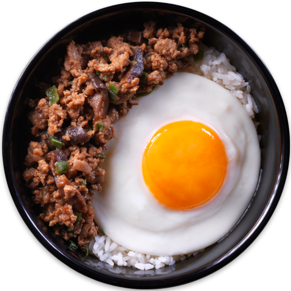 Minced Beef Rice Bowl